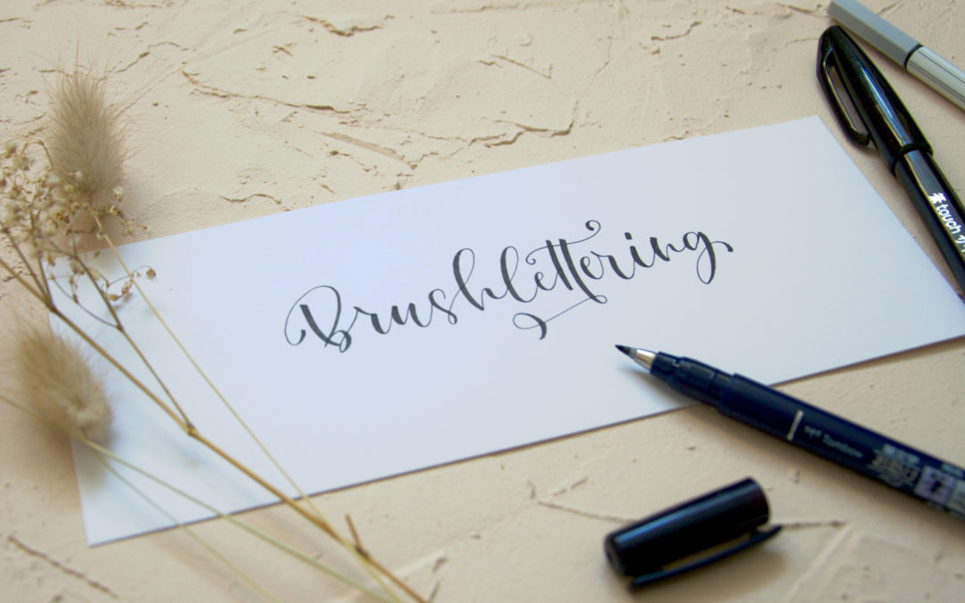 Brushlettering lernen – mit Freebie!