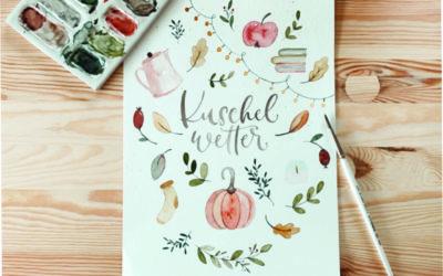 Herbst Mood Board – Vorlage