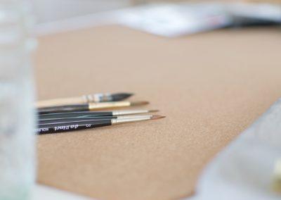 Lettering & Watercolor Workshops by Kathi von Belettert.at - in Niederösterreich