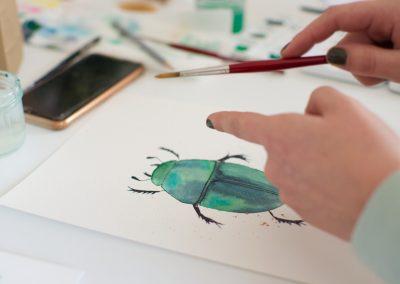 Watercolor Workshop in Niederösterreich