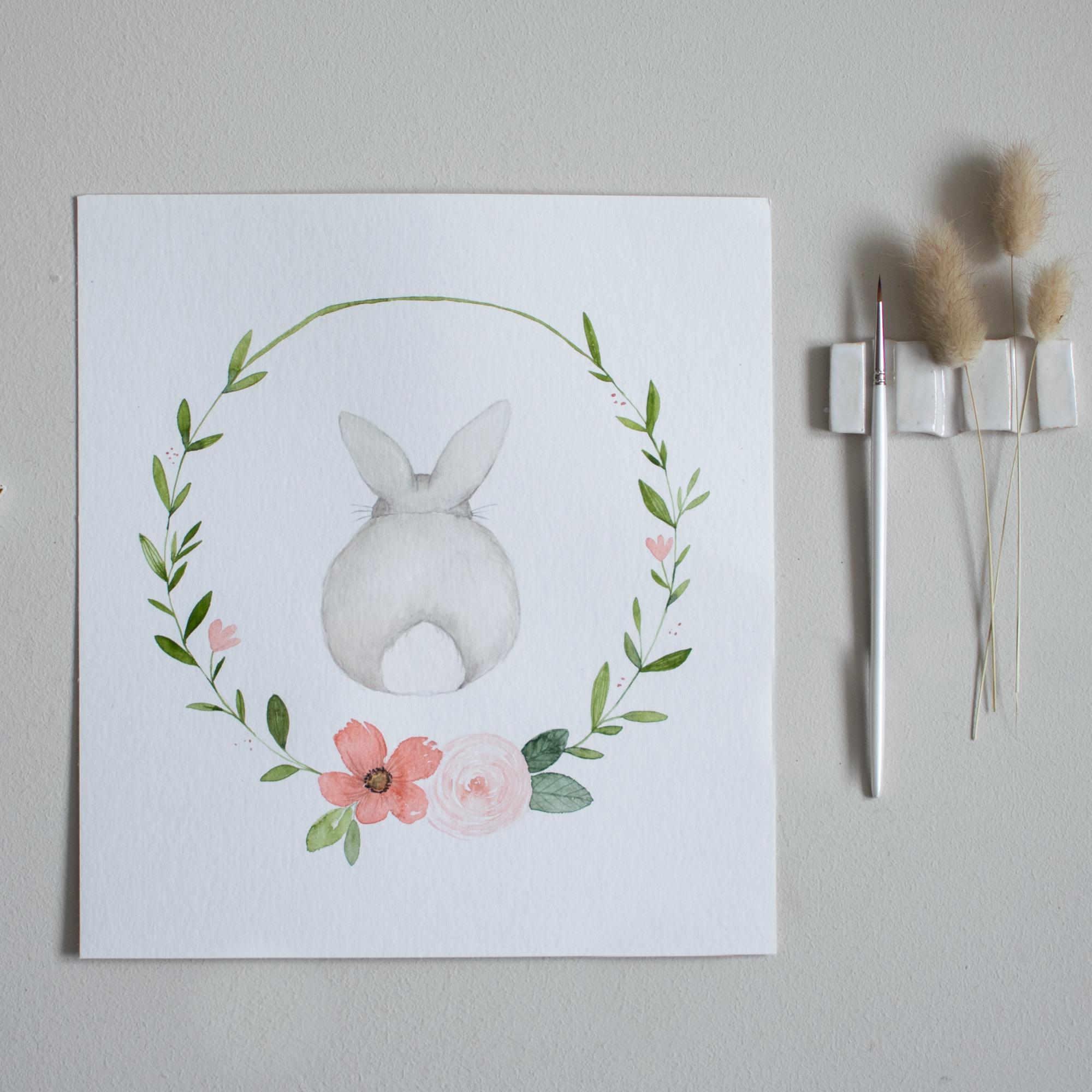 Vorlage Easter Bunny Freebie