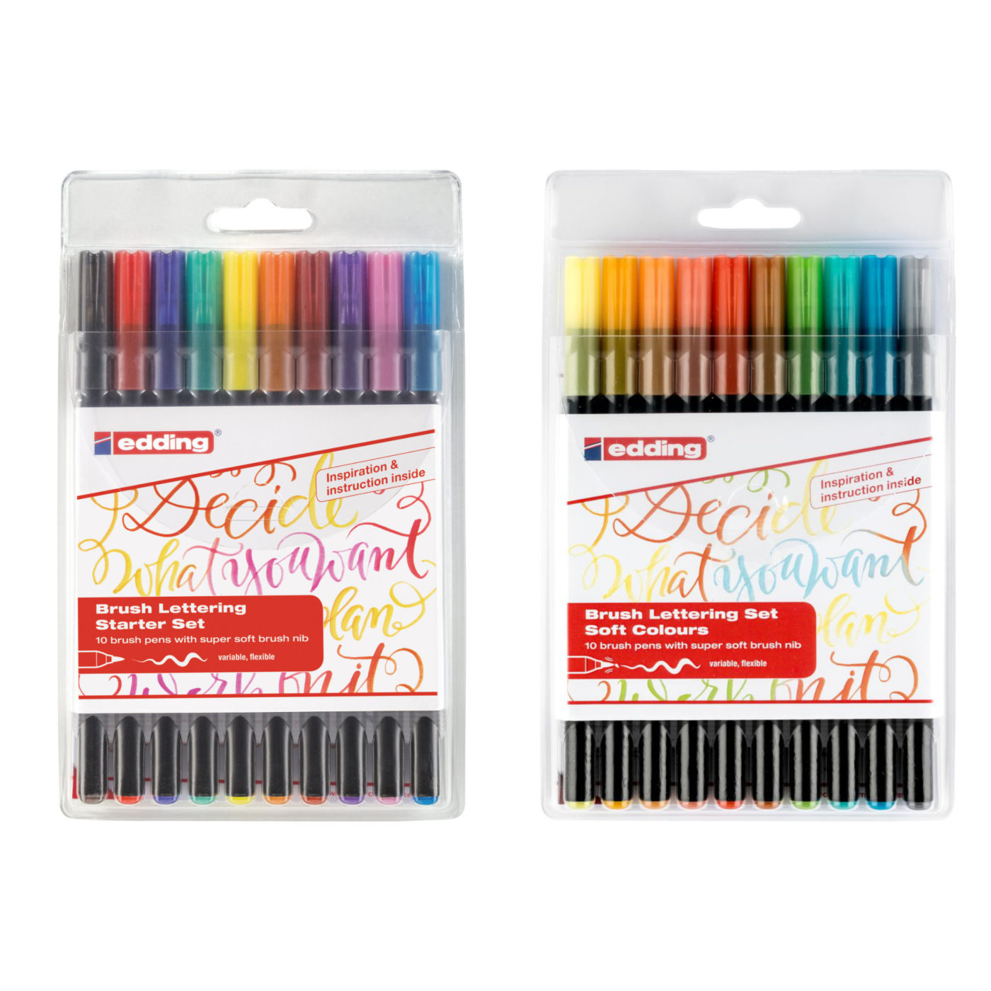 Edding 1340 Brush Pens Set