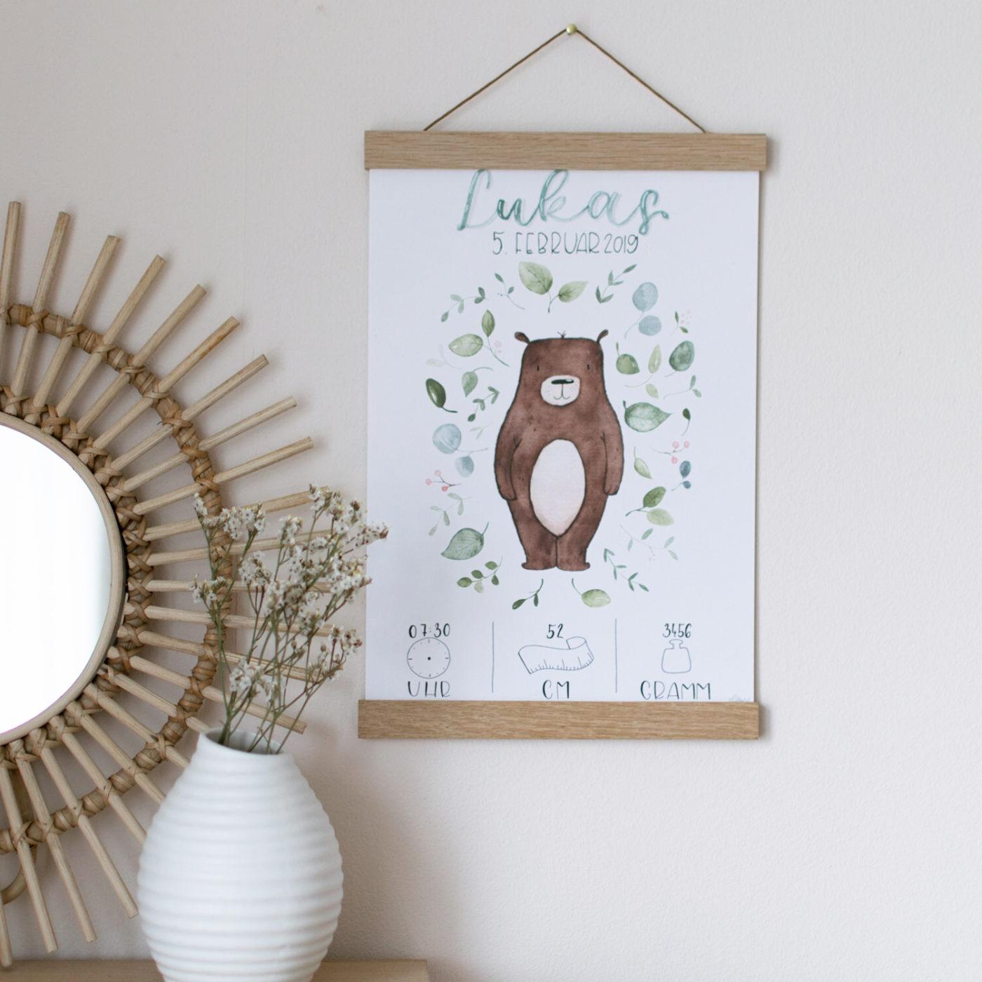 Geburtsbild Bär