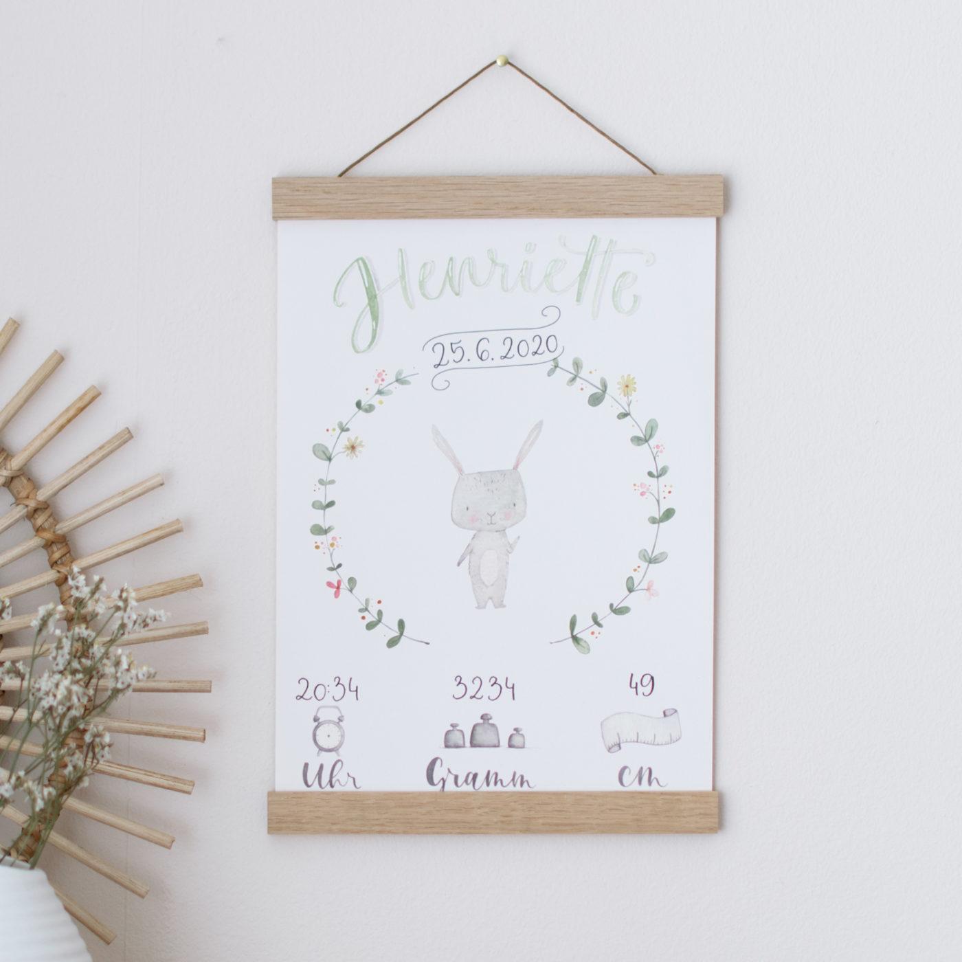 Geburtsbild Hase
