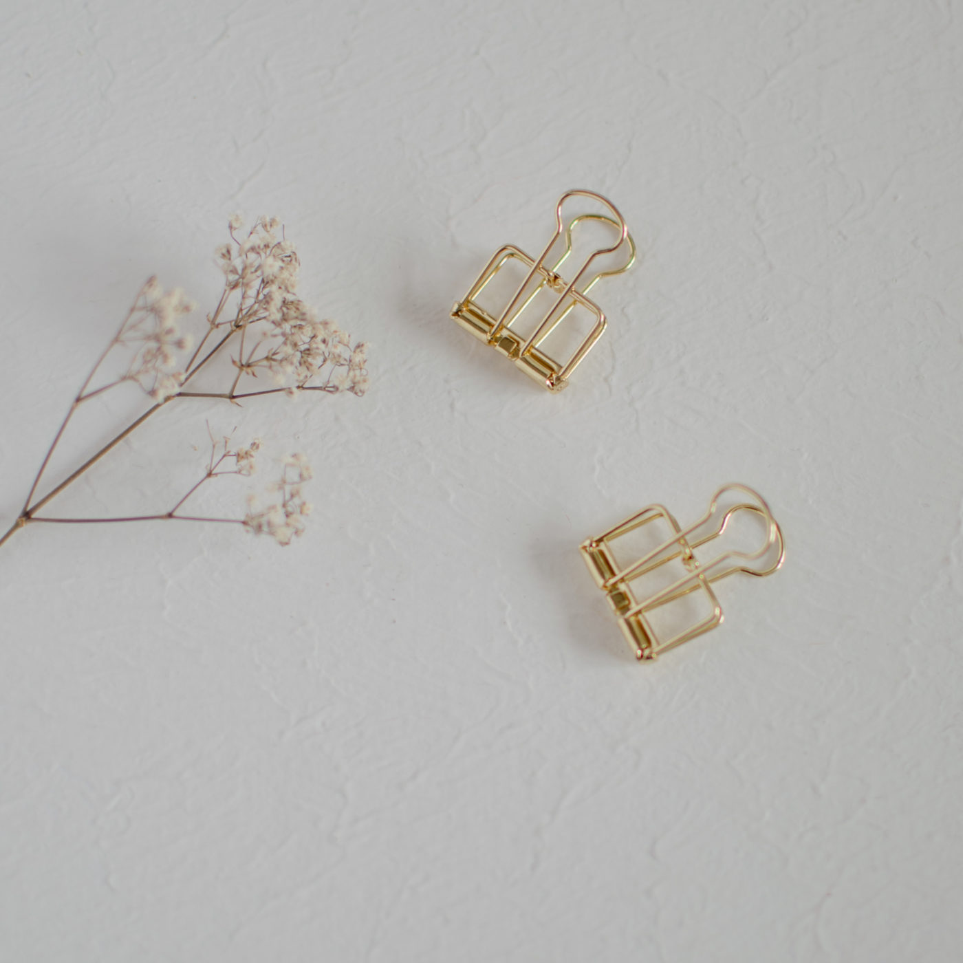 Paperclips 4er Pack M Gold