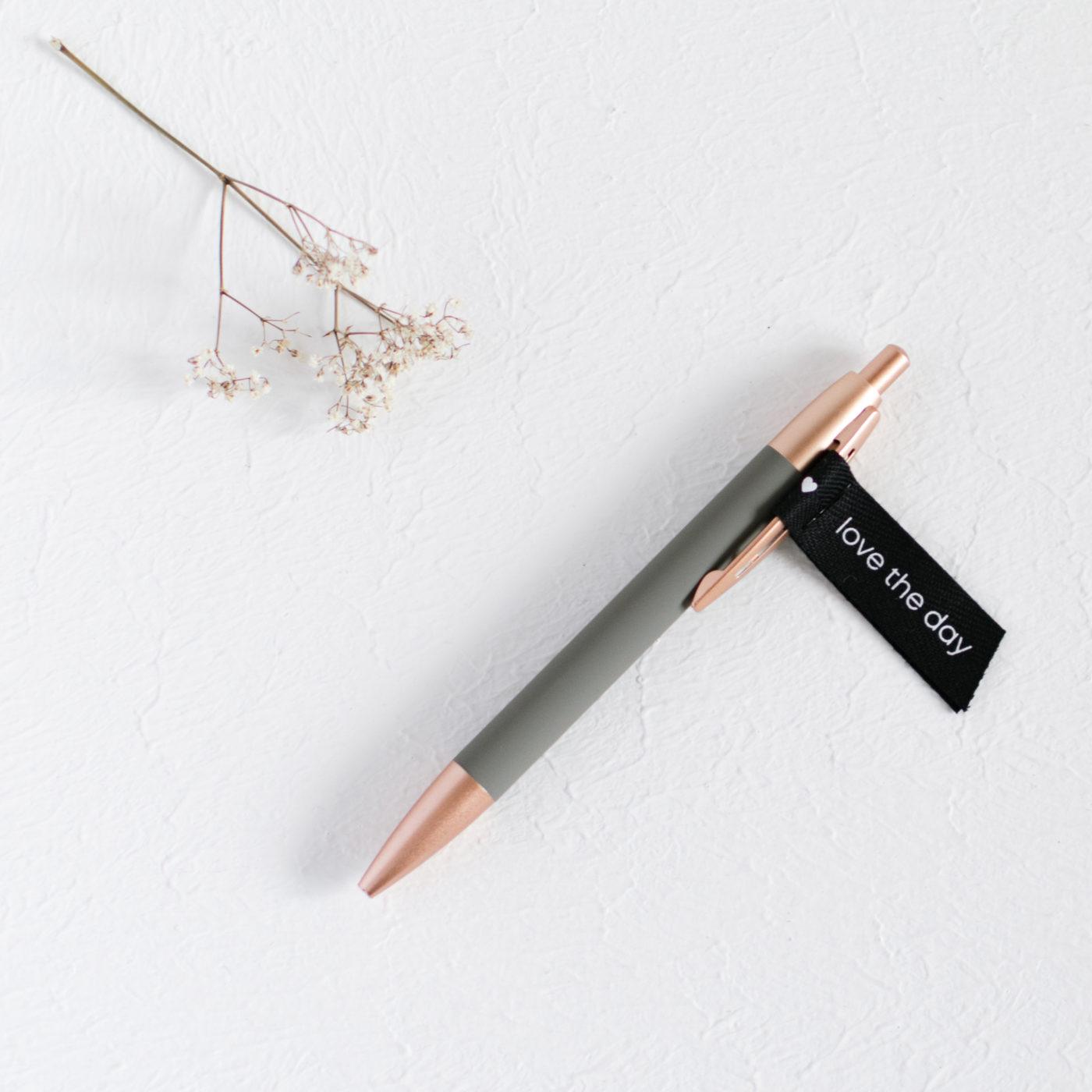 Pen dunkelgrau, Kugelschreiber dark grey