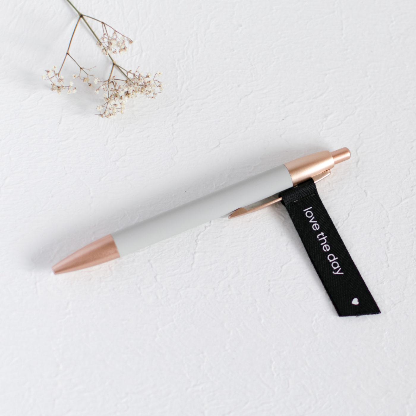 Pen hellgrau, Kugelschreiber light grey