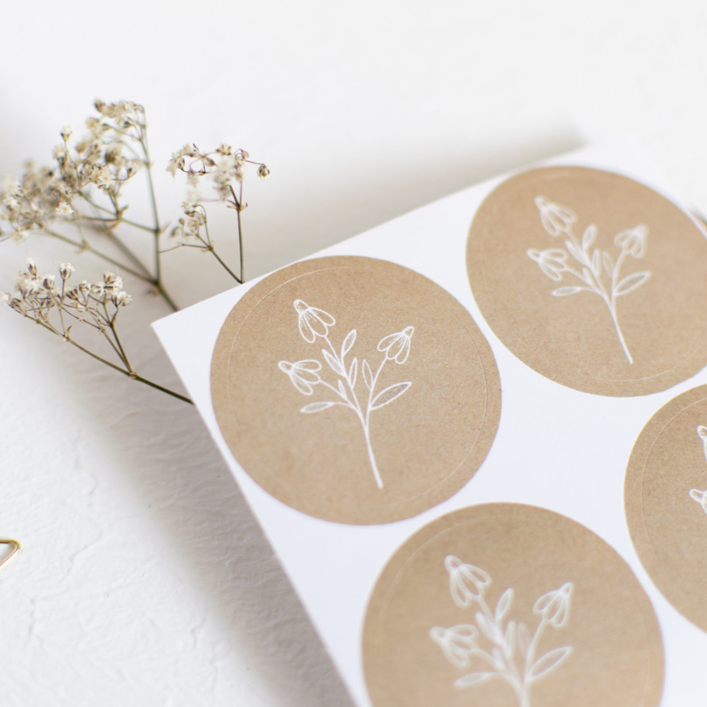 Sticker Set Blume